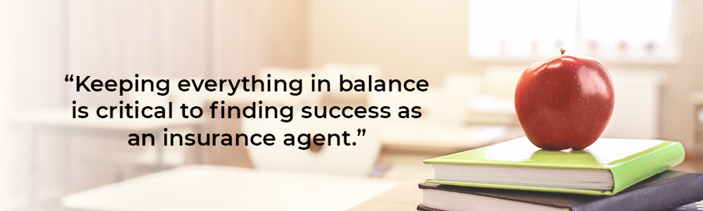 Successful insurance agent