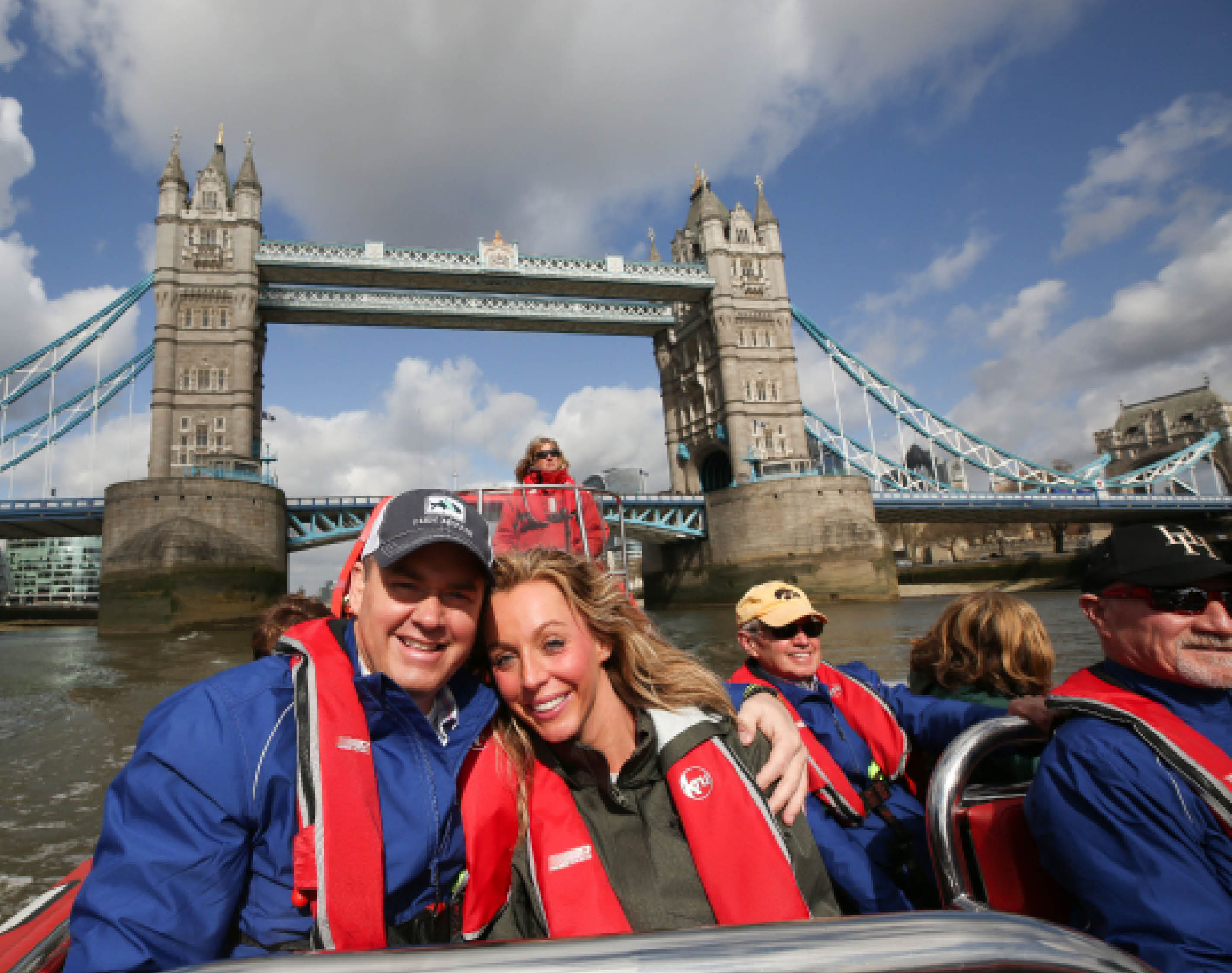 River Thames tour in London.