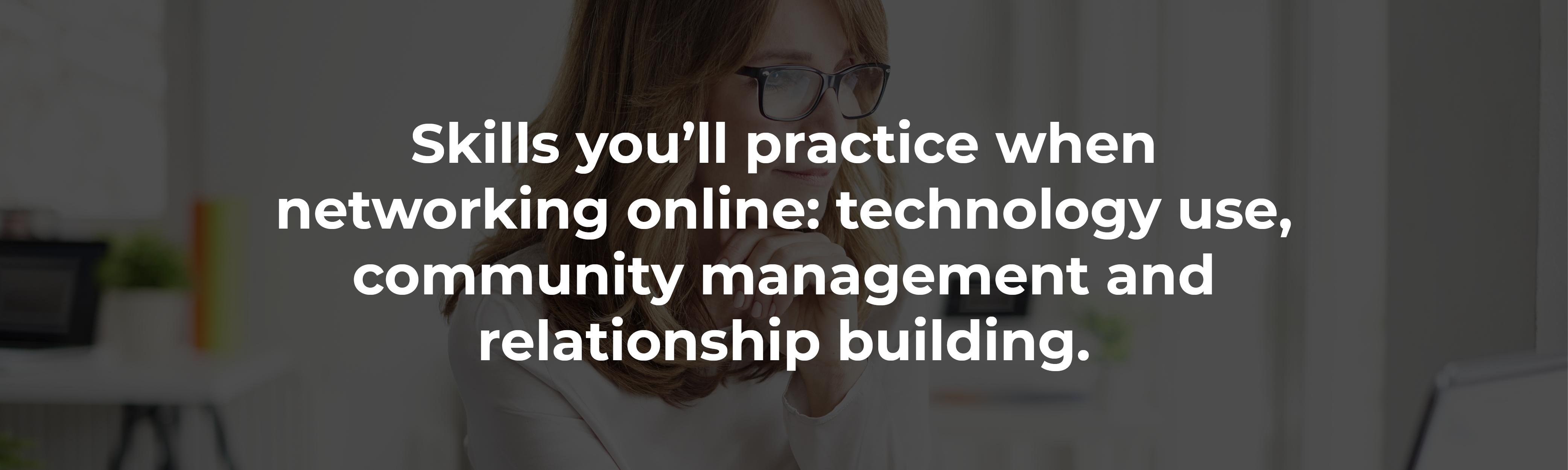 networking online skills