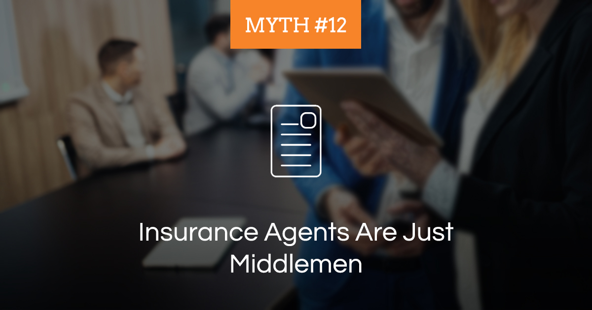 how to be an insurance agent