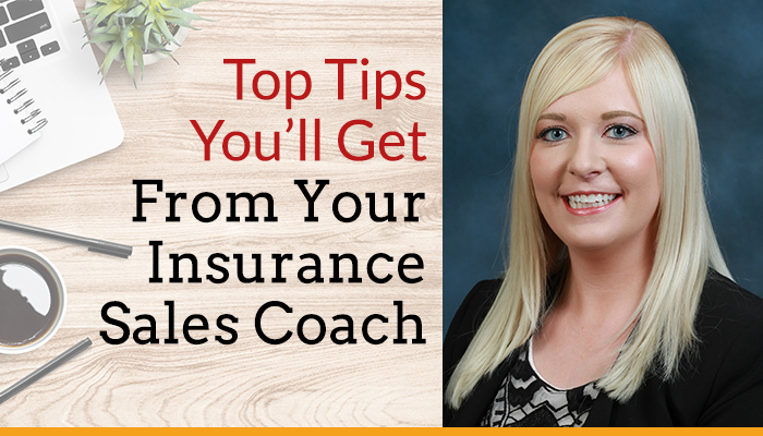 tips you'll get from an insurance sales coach